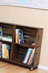 Crates For Bookshelves 25 Best Ideas About Crate Bookshelf On