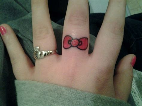finger tattoo how painful 1000 ideas about bow finger tattoos on pinterest bow