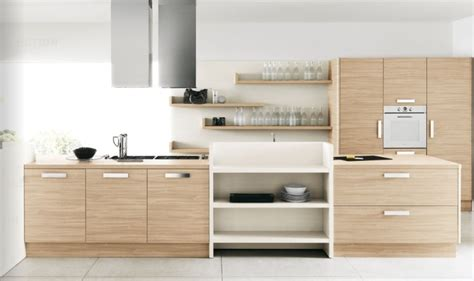 light wood kitchen modern kitchens from cesar