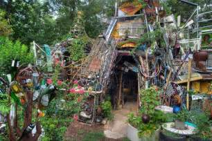 a flea market garden or junk flea market gardening
