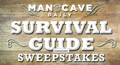 How To Find Local Sweepstakes - cbs local mancave survival guide sweepstakes
