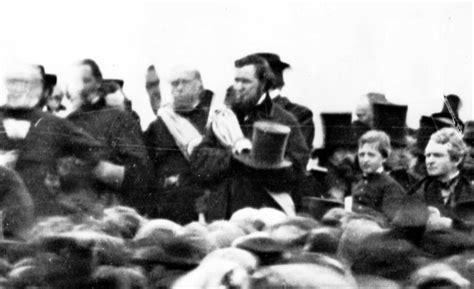 lincoln in gettysburg gettysburg address