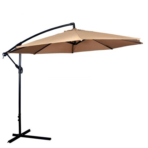 Outside Patio Umbrellas New Patio Umbrella Offset 10 Hanging Umbrella Outdoor Market Umbrella D10 Ebay