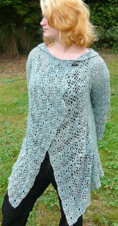 pattern waterfall cardigan 17 best images about crocheted sweaters vests and