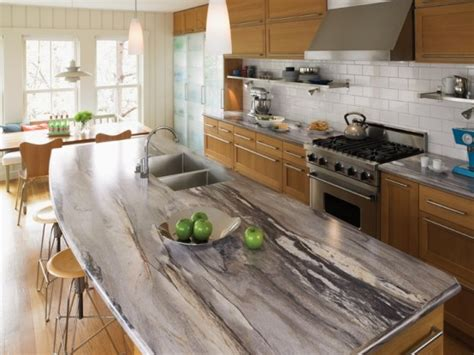 Formica Countertop Ideas by 30 Unique Kitchen Countertops Of Different Materials