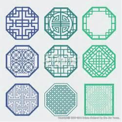 korean design 한국의 전통 창틀 무늬문양 세트 한국 전통문양 패턴디자인 bptd020177 korean old of window frame symbol sets korean