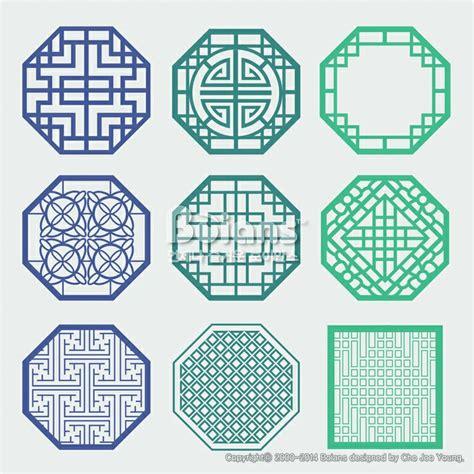 korean design 한국의 전통 창틀 무늬문양 세트 한국 전통문양 패턴디자인 bptd020177 korean old