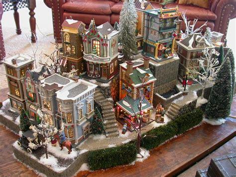 51 best christmas village display images on pinterest