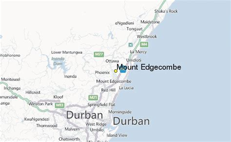 mount edgecombe weather station record historical