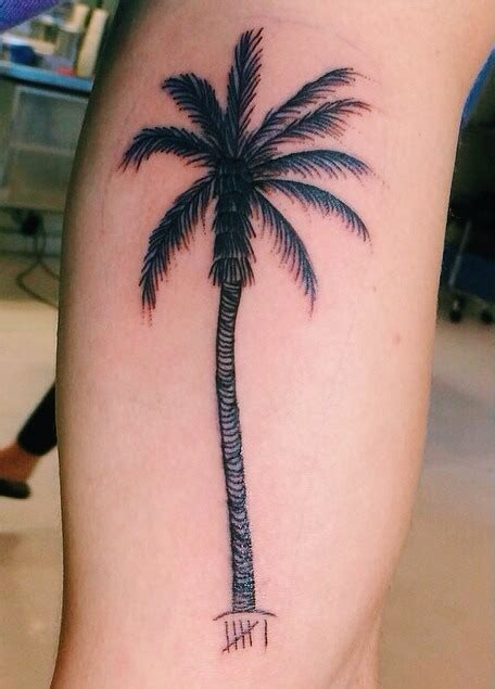 palm tree tattoo meaning palm tree jc caylen search inspo