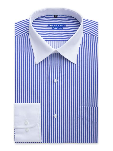 White And Blue Shirt mens white striped shirt artee shirt