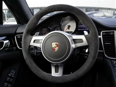 volante design codes options int 233 rieur alcantara panamera gts