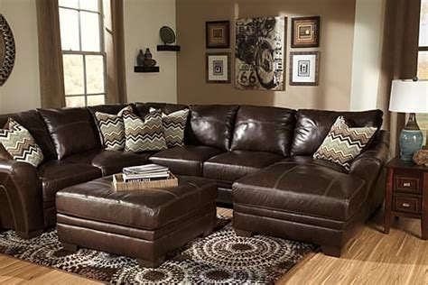 beenison chocolate sectional  ashley furniture