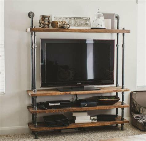 Etagere Meuble Tv by Le Meuble Tv Style Industriel En 50 Images Archzine Fr