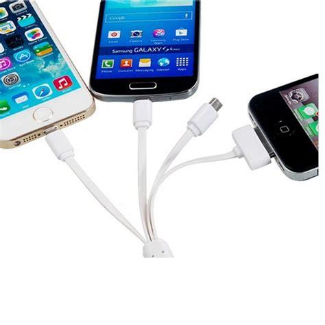 taff multifunction 4 in 1 usb charging cable lightning 8 pin 30 pin micro usb mini usb