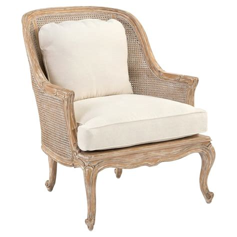 ivory armchair bourges french caned bergere ivory upholstered armchair kathy kuo home