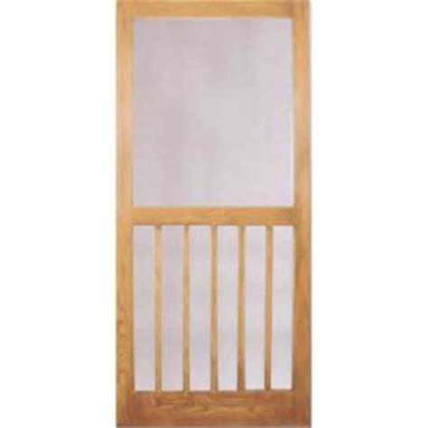 columbia emerson kingston wood screen door in oak fir