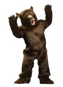 grizzly bear mascot costumes