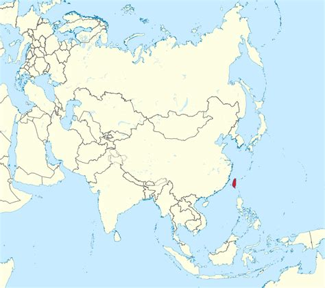 taiwan map asia file taiwan in asia mini map rivers svg 维基百科 自由的百科全书