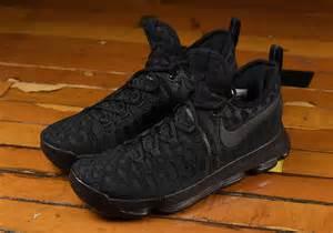 Pink Color Scheme Nike Kd 9 Triple Black Release Date Sneaker Bar Detroit