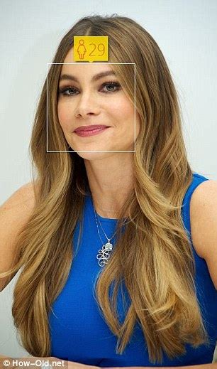 sofia vergara looks far younger than 42 years in make up microsof how old do i look can tell how old you are from
