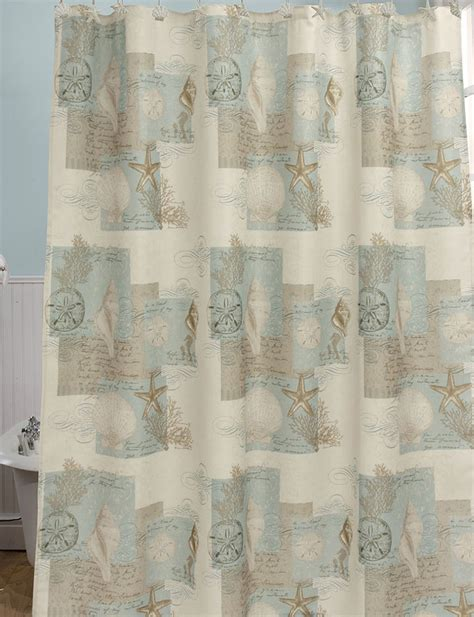 bacova shower curtains bacova guild coastal moonlight shower curtain stage stores