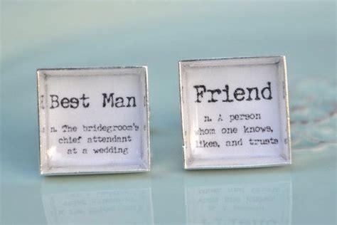 Best Man and Friend definition word cufflinks   groomsmen