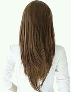 back of hair in a point 1000 images about cortes on pinterest cabello largo