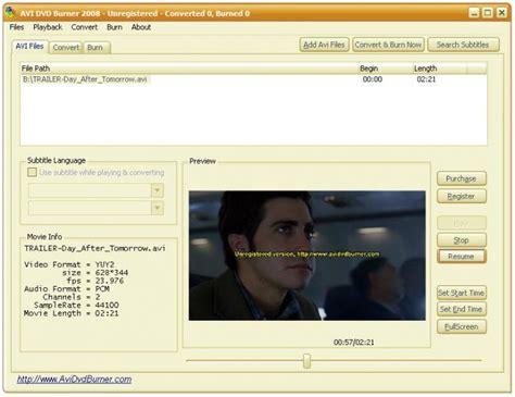 avi dvd burner full version free download avi dvd burner download