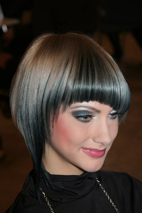 bob hairstyles angled inverted asymmetrical blunt bobs