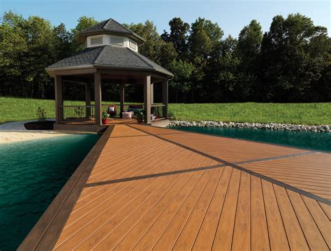 Timbertec Decking by Azek Building Products And Timbertech Unveil New Products