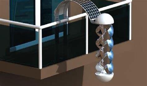 mini eolico da terrazzo in arrivo la mini turbina da balcone si chiama