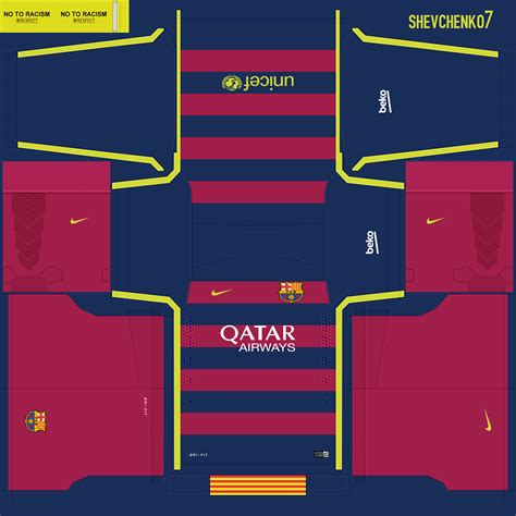 design kit dream league soccer pes 2015 home kit barcelona for new season 15 16 pes patch