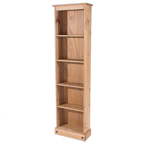 narrow bookcases bonsoni colton narrow bookcase by carran furniture