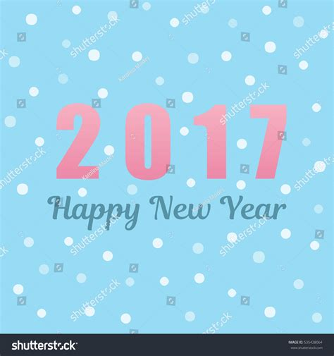 new year wishes vector happy new year 2017 card wishes stock vector 535428064