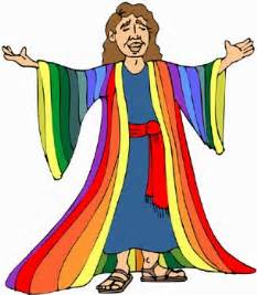 joseph and his coat of many colors a rainbow a coat and jfk cj voices of conservative