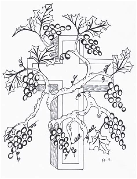 coloring pages jesus is the vine jesus is the true vine sunday school lesson
