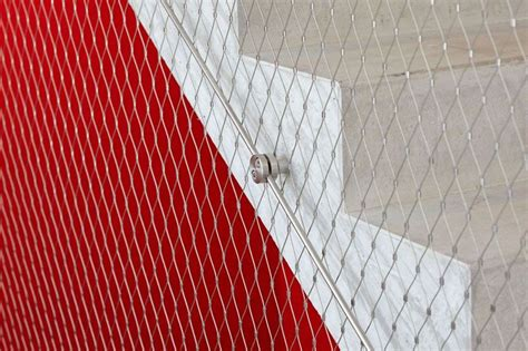 Mesh Banister Guard by Aisi316 Creative X Tend Wire Rope Mesh Net Railing Guard