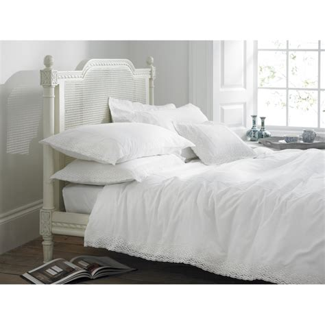 White Duvet Cover Helena Springfield Chantilly White Lace Duvet Cover