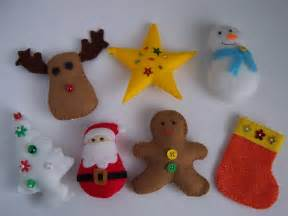 New felt toy christmas ornaments no 15 pdf pattern felt