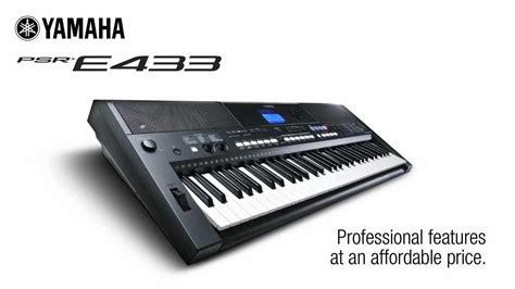 Keyboard Yamaha E433 yamaha psr e433 61 teclas arranjador