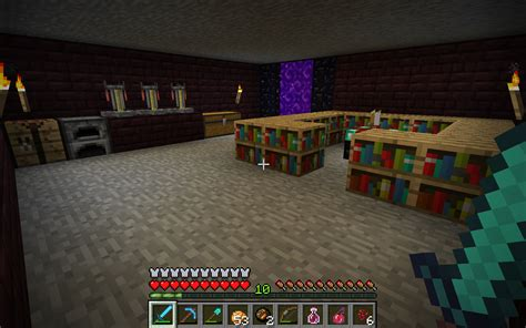minecraft brewing room help w sinister enchanting brewing nether room survival mode minecraft discussion