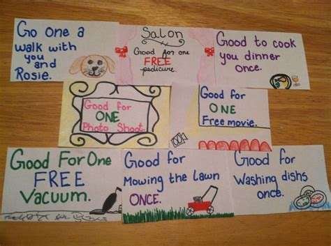 coupon book craft ideas book