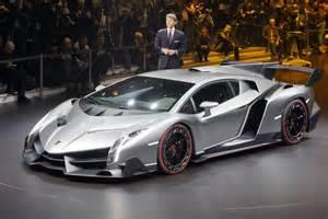 Lamborghinis Veneno Lamborghini Veneno Unveiling At Geneva
