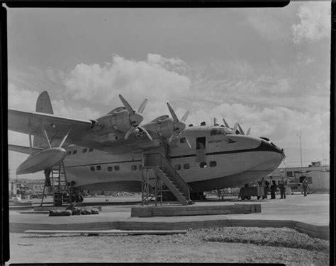 boat mechanic australia teal tasman empire airways limited staff servicing the