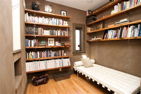 home office design books library