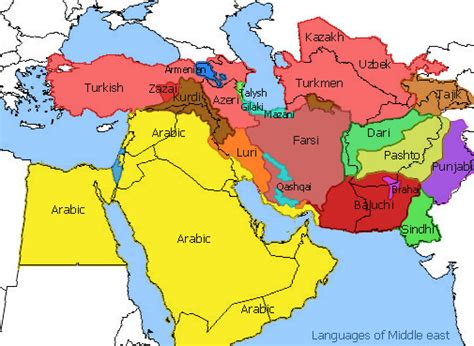 middle east map in 2020 file middle east languages jpg wikimedia commons