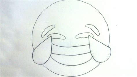 Imagenes De Risa De Amor Para Dibujar | c 243 mo dibujar un emoji llorando de risa youtube
