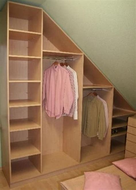 Create Closet Space by Creative Attic Storage Ideas And Solutions Hative