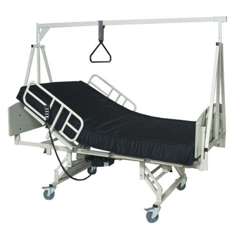 trapeze for bed medline ltc and ac bariatric beds hospital bed